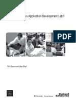 PlantPAX Process Application Development Lab1