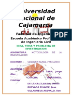 Informe n 5metodologia de La Investigacion