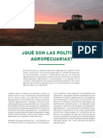 Lectura Semana 1. Unidad 2. Politicas Agropecuarias