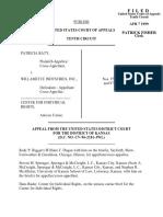Baty v. Willamette Inc., 172 F.3d 1232, 10th Cir. (1999)