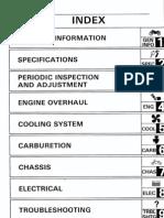 Yamaha XTZ 750 ST Service Manual