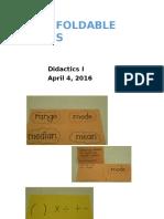foldables- part 2