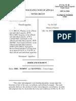Parker v. Bruce, 10th Cir. (2004)