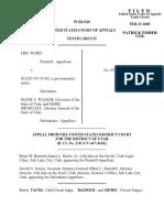 Ward v. State of Utah, 398 F.3d 1239, 10th Cir. (2005)