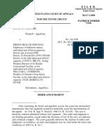 Williams v. Prison Health Serv, 10th Cir. (2005)