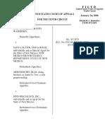 Washburn v. Beltran, 10th Cir. (2006)