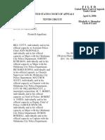 Gilchrist v. City of OKC, 10th Cir. (2006)