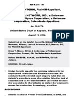 Antonio v. Sygma Network, Inc., 458 F.3d 1177, 10th Cir. (2006)