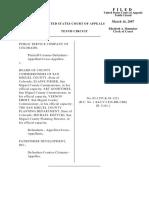 Public Service Co. v. Bd. County Comm'r, 10th Cir. (2007)