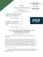 Citizens for Alter v. Cast Transportation, 485 F.3d 1091, 10th Cir. (2007)