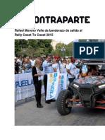 27-11-2015 ContraParte - Rafael Moreno Valle Da Banderazo de Salida Al Rally Coast to Coast 2015