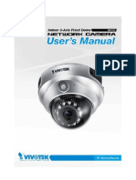 Vivotek FD1731 User Manual