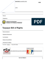 Taxpayer Bill of Rights - Bureau of Internal Revenue