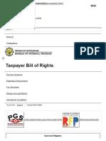 Taxpayer Bill of Rights - Bureau of Internal Revenue