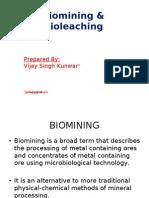 Biomining  and Bioleaching