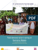 Masonry Training on Sanitation Models