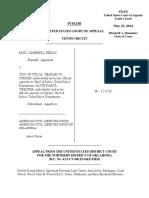 Fields v. City of Tulsa, 10th Cir. (2014)