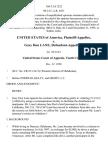 United States v. Gary Don Lane, 166 F.3d 1222, 10th Cir. (1998)