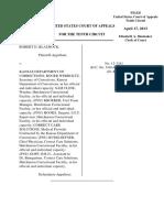 Blaurock v. Kansas Department, 10th Cir. (2013)