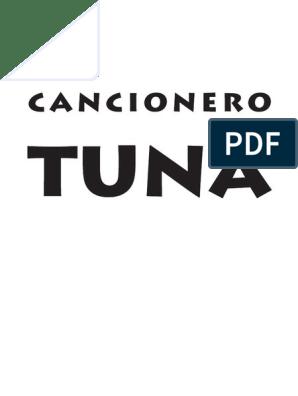 Cancionero Tuna Escala Música Acorde Música