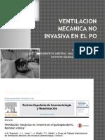 Ventilacion Mecanica No Invasiva en El Po