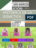 LECTURA N°3 EVOLUCIÓN HISTORICA DE LA DIDÁCTICA