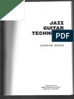 Andrew Green Jazz Guitar Technique