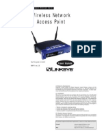 Linksys WAP11 v26 Use Guide