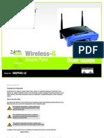 Linksys WAP54G User Manual