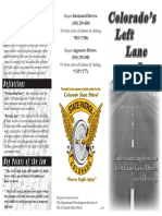 Left lane driving law