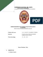 Dimensionado SSFA y Cuadro de Cargas