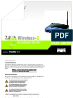 Linksys WRK54G User Manual