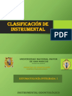 clase 12 i clasificacion de instrumenta