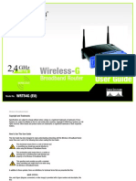 Linksys WRT54Gv5 User Manual