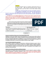 Crim Pro Rule 110 Sec 14 Summary