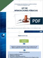 Ley de Contrataciones Publicas_Presentación