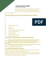 8 Standar Nasional Pendidikan Menurut BSNP