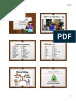 Brain-Friendly Learning Handout 2016