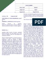 Full Cases and Digests (Pp. vs. Agpangan and Enrile vs. Salazar)