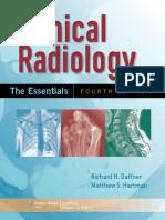 RADIOLOGY - Clinical Radiology - The Essentials 4E (2014) [PDF] [UnitedVRG]