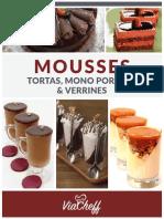 ViaCheff Mousses Tortas Mono Porcoes Verrines