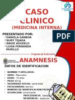 Caso Clinico Policlinico Olaya Medicina Interna