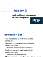 Chapter 2:Instructions