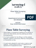 4 Plane Table Surveying