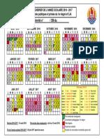 Calendrier 2016-2017 Modifié -1er Degré