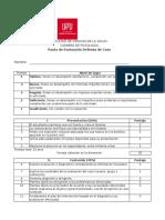 Pauta Evaluación Defensa de Caso Psicología 2016