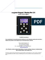 Magnum Keypad Operation Manual