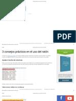3 Consejos Prácticos en El Uso Del Ratón - Excel Total