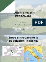 8 Popoli Italici Preromani