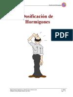 Dosificaciones de Hormigon